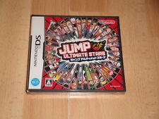 JUMP ULTIMATE STARS NTR-AJUJ-JPN NINTENDO DS VERSION JAPONESA NUEVO PRECINTADO