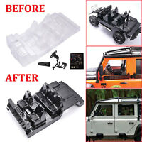 DIY Simulation Auto Interior Dekor Body Shell Für Traxxas TRX-4 Defender D110 RC