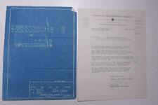 1932 Lamson Goodnow American Hard Rubber New York NY Blueprint Ephemera P043L