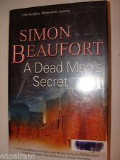 A Dead Man's Secret Simon Beaufort Susana Gregory 2011 HC Geoffrey Mappestone