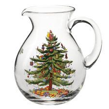 Spode Christmas Tree 3.4L Pitcher Christmas Festive Glassware Jug