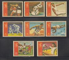 Equatorial Guinea 1980  Moscow Olympics Sc 7829-7836  Mint Never Hinged