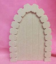 4 mm Fiore MDF Arch Scanalato Porta di Fata Craft in bianco