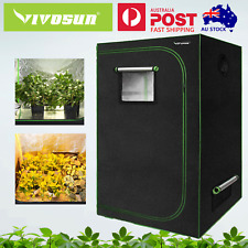 VIVOSUN 60x60x120CM Mylar Grow Tent Room for Indoor Grow System Hydroponics New