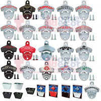 Starr X Bottle Openers OR Cap Catchers OR Sets- Wall Mounted CREATE YOUR OWN SET