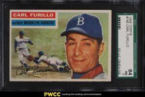 1956 Topps Carl Furillo #190 SGC 7 NRMT