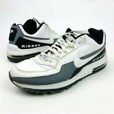 Nike Air Max LTD Mens 11.5 High Top Shoes White Black Cool Grey 687977-119