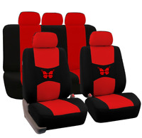 9 pcs Universal  Auto Car Seat Covers Polyester Cushion SUV Protectors