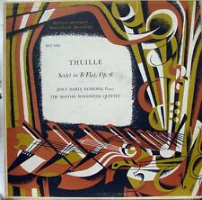 Sanroma / Boston Woodwind Quartet - Thuille Sextet In B Flat LP VG+ BST 1001