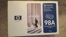 HP 92298A 98A Toner Cartridge Genuine NEW SEALED 4 - 4m - 5