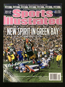 Charles Woodson Signed Sports Illustrated 10/11/10 No Label Packers +1 Auto JSA