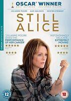 Still Alice Julianne Moore Alec Baldwin Kristen Stewart Curzon GB DVD Excellent
