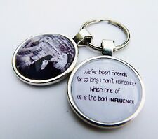 Personalised Fun Friendship Keychain Gift Idea 'We've been friends for so long'