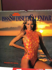 Sports Illustrated Swimsuit Calendar 1988, Featuring top Models of the 1980's