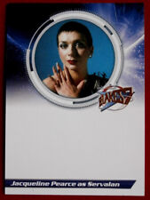 BLAKE'S 7 - JAQUELINE PEARCE as Servalan - UNSIGNED Autograph Card