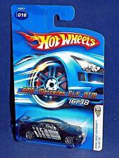 Hot Wheels 2006 First Editions #16 AMG-Mercedes CLK DTM Black w/ 10SPs