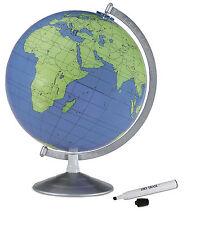 "Replogle Geographer World Globe 12"" Write & Erase. Brand New!"
