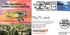 CC51a Gp Capt Lord Cheshire VC Foundation RAF flown cover signed artist