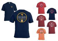NCAA Simple Circle Comfort Color Ultra Soft Short Sleeve T-Shirt M L XL 2XL