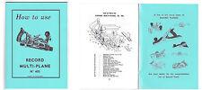 Record 405 Multi-Plane Manual