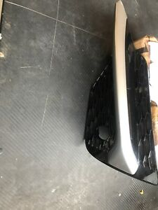 NISSAN QASHAQI 2017 2019 RH  FOG LAMP GRILLE WITH PDC HOLE AND CHROME RIGHT SIDE