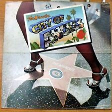 THE MIRACLES CITY OF ANGELS FREE PRESS NIGHT LIFE  LP 1975 MINT ITALY