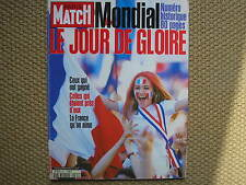1998 MONDIALE CALCIO FRANCE WORLD CUP FOOTBALL NUMERO SPECIALE PARIS MATCH