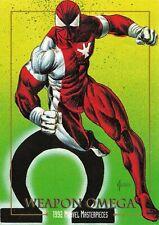 WEAPON OMEGA / 1992 Marvel Masterpieces BASE Trading Card #96 Art by JOE JUSKO