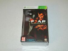 F.E.A.R. 3 Collector's Edition XBOX 360 Import Unopened FREE SHIPPING