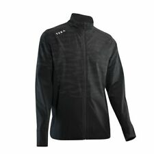 Reflective Cycling / Run Breathable Softshell Jacket - Black