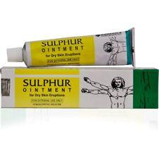 Sulphur Ointment Bakson Help for Effective Scabies Seborrhoea Psoriasis Acne 25g
