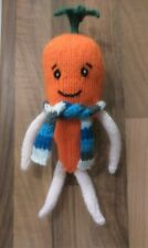 Kevin the Carrot KNITTING PATTERN Easter / Xmas Aldi advert to make a soft toy