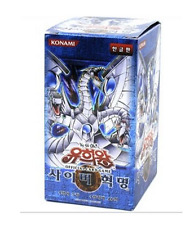 "YUGIOH CARDS ""Cybernetic Revolution"" BOOSTER BOX (40 Pack) / Korean Ver"