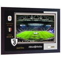 Allianz Stadium Juventus Ronaldo no signed photo print poster FRAMED