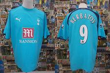 maglia calcio shirt maillot camiseta trikot TOTTENHAM BERBATOV TG L