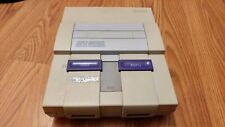 Super Nintendo Entertainment System With Game Bundle-Including Super Mario World