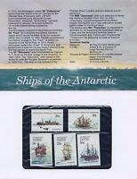 3 SHIPS of the ANTARCTIC STAMP PACK - SERIES I - MINT AUSTRALIA POP