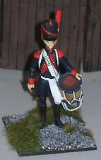 Napoleonic French drummer expertly painted & based 1/30 scale metal soldier