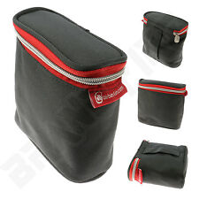 Compact Wash Bag - Toiletry Case - Lightweight Festival Travel Zip-Up Pouch