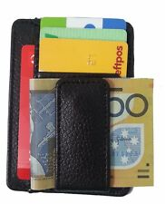 Men's Genuine Leather card slots Money Clip Wallet High Quality by JL