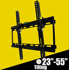 "Tilt TV Wall Mount Bracket 30 32 37 40 42 46 48 50 55"" VESA 400mm Plasma LED LCD"
