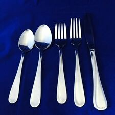 Oneida FLIGHT RELIANCE 5 PC Place Setting Knife Forks Spoons Stainless Steel