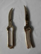 """Vintage Kitchen Shears Pair of 2. """"Better"""" Made In Italy"""