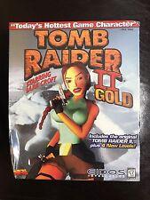 Tomb Raider II Starring Lara Croft Gold (PC, 1999) Brand New Big Box