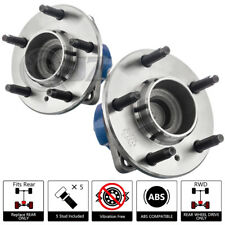 2X 2005 CHEVROLET UPLANDER FRONT WHEEL HUB BEARING ASSEMBLY REPLACEMENT STUD ABS