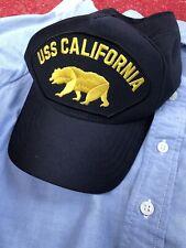 USN USS California Cap USA Made