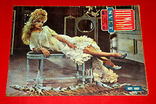 SEXY BRIGITTE BARDOT ON THE TABLE  COVER 1960 UNIQUE EXYU MOVIE MAGAZINE