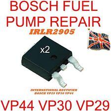 2 x BOSCH VP44 VP30 VP29 INIEZIONE POMPA del carburante RIPARAZIONE Transistor