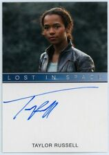 2019 Lost In Space Series 1 Taylor Russell (Full Bleed) Autograph Scarce <100