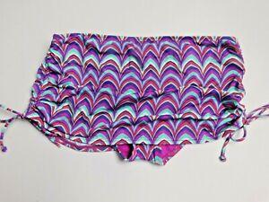 Apt 9 Multi Color Print Bikini Top or Skirt Bottom Swimwear MSRP $40